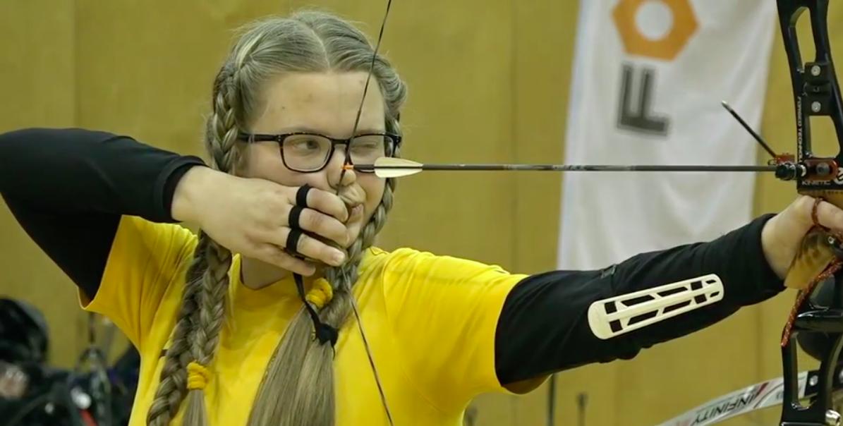 Estere Ukstiņa (enkrānšāviņš no Sportacentrs.com)